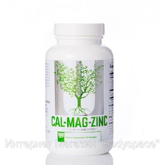 Universal Nutrition, Микроэлементы Calcium Zinc Magnesium, 100 таблеток