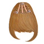 Накладная челка из натуральный волос. Цвет #16 Золотой Блонд, фото 3