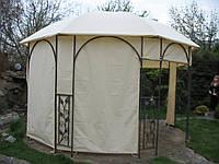 Пошив штор и тентов на садовую беседку, фото 1
