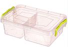 Контейнер для хранения продуктов с зажимами, тройной - 1,63л, фото 3