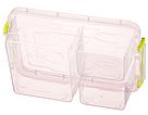 Контейнер для хранения продуктов с зажимами, тройной - 1,63л, фото 4