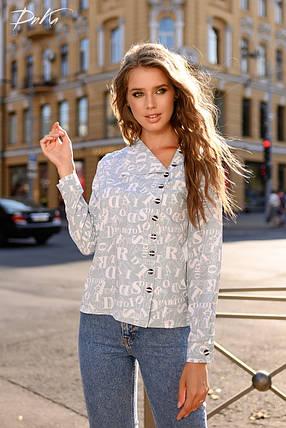 Модная принтовання рубашка, фото 2