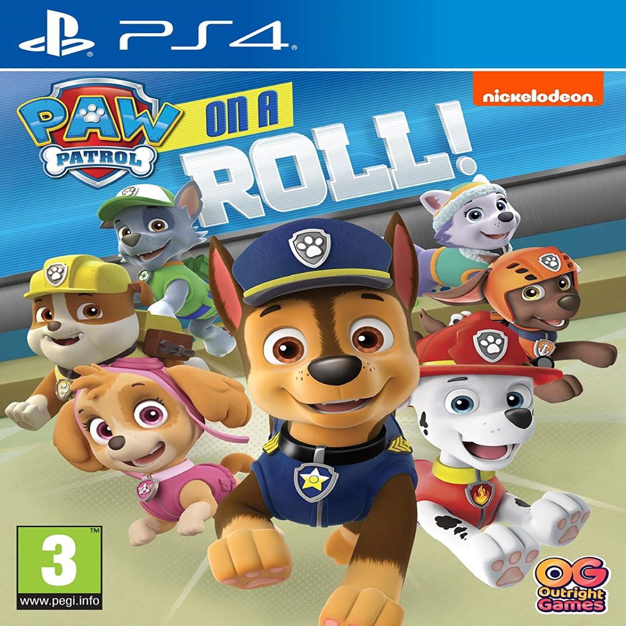 PAW Patrol: On a Roll PS4 (англійська версія)