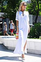Белое платье для лета (M/L, L/XL, XL/XXL)