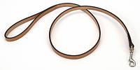 Поводок Coastal Circle-T, кожаный, 2,5смХ1,2м