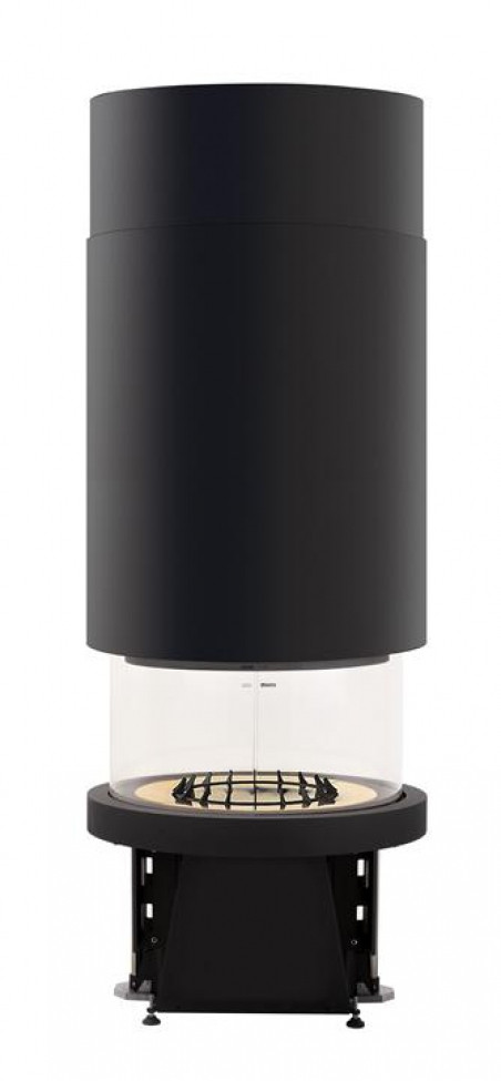 Каминная топка PIAZZETTA M360 T цилиндрический навесной кожух
