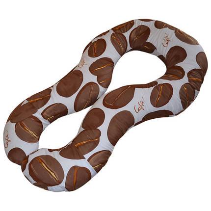 Подушка для беременных Комфорт цвет Coffee, фото 2