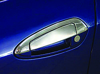 Накладки на ручки с верхушкой (8 деталей) Fiat Linea (2006+)