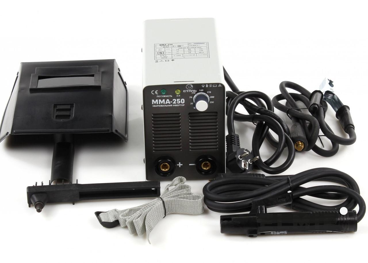 Сварочный аппарат инверторный Сталь ММА-250 IGBT