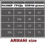 ARMANI чоловіча футболка поло армані купити в Україні, фото 3