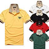 ARMANI чоловіча футболка поло армані купити в Україні, фото 7