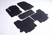 Коврики в салон для Ford Kuga 2013 - черные кт 5шт