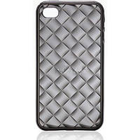Чехол для телефона VOORCA for iPhone4 Crystal case V-4C black