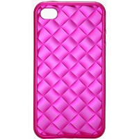 Чехол для телефона VOORCA for iPhone4 Crystal Case V-4C red