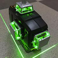 Лазерный уровень 3d Deko New Green зеленый луч DKLL12PB1