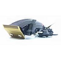 Профессиональная машинка для стрижки волос Gemei GM-807. Набор для стрижки с 4 насадками, ножницами, расческой - Жми КУПИТЬ!