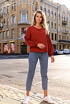 Хорошенькая блуза свободного кроя, фото 2