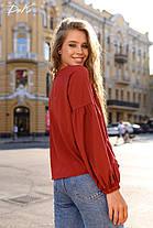 Хорошенькая блуза свободного кроя, фото 3