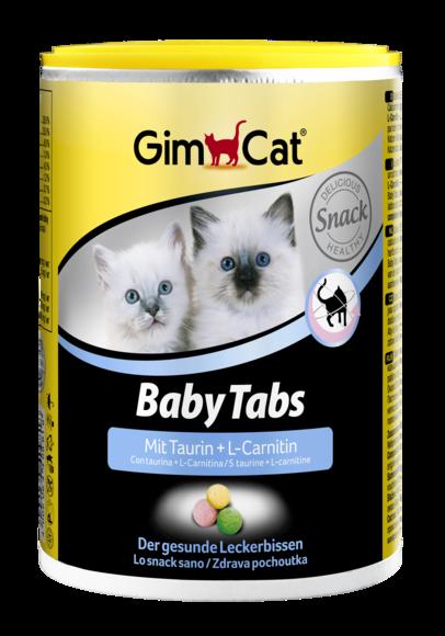 Витамины для укрепления иммунитета и здорового развития котят GimCat Baby-Tabs 250 табл.