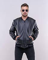 """Стильная мужская куртка """" Экокожа """" Dress Code, фото 1"""