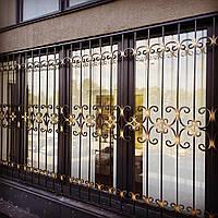 Решетки на окна кованые АРТ КР №- 63, фото 1