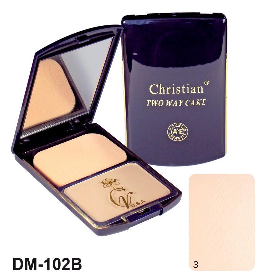 Крем-пудра для лица  Christian № 03 DM-102B