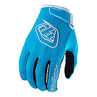 Подростковые вело перчатки TLD AIR glove размер Y-LG  [Light Blue]
