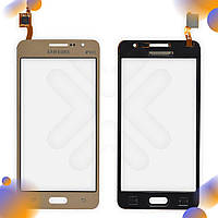 Тачскрин Samsung Galaxy Grand Prime/VE (G530H, G530E, G531H, G530F/DS), цвет золотой
