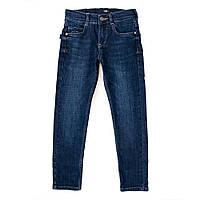 Джинсы для мальчиков A-yugi 140  синий 2732