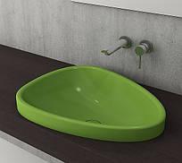 Умывальник Bocchi ETNA 58,5х45,8 глянцевый фисташково-зеленый (1112-022-0125)