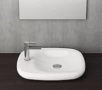 Умывальник Bocchi FENICE 54х45 глянцевый белый (1164-001-0125)
