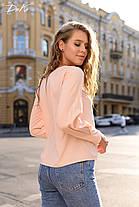 Восхитительная блуза прямого кроя, фото 3