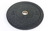 Блины (диски) проф. Бампер структурные с металической втулкой d-51мм RAGGY  5кг (резина) ТА-5126- 5