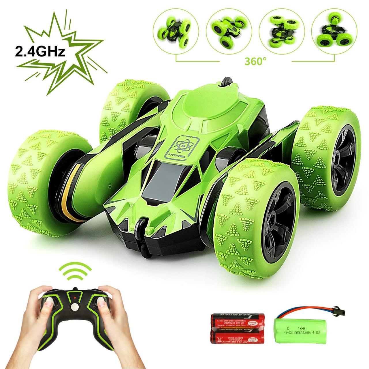 Іграшковий гоночний автомобіль Stunt Atom Max