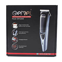 Машинка для стрижки волос Gemei GM-6053, фото 3