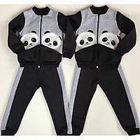 Детский костюм спортивный для девочки Панда
