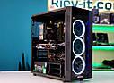"Игровой компьютер KIEV-IT™ ""Dark Knight"" i5 9600KF | Z390 | GTX 1070 | DDR4 16GB | NVMe 256GB | HDD 1TB, фото 6"