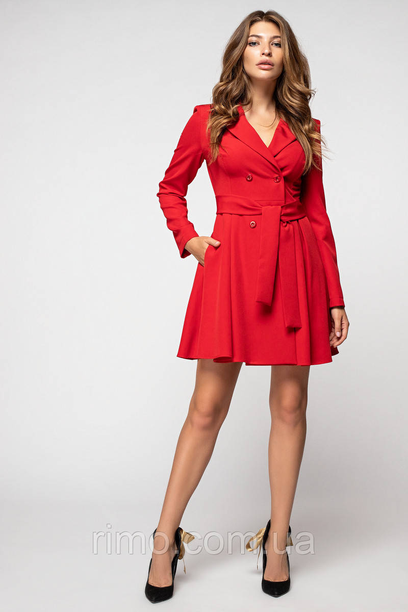 Платье-жакет 5188 красный