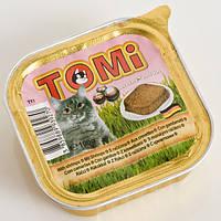 Консервы для кошек Tomi, с креветками, 0,1кг