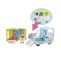 Игровой набор Peppa Pig медицинский центр на колесах 06722