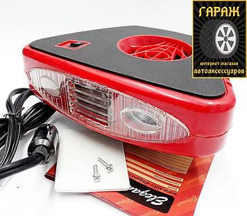 Автомобильный тепловентилятор Elegant 101 507 12V 150W + LED подсветка