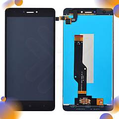 Дисплей для Xiaomi Redmi Note 4, Note 4X Snapdragon 625 с тачскрином, цвет черный