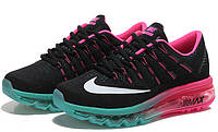 Женские кроссовки Nike Air Max 2016 black-pink, фото 1