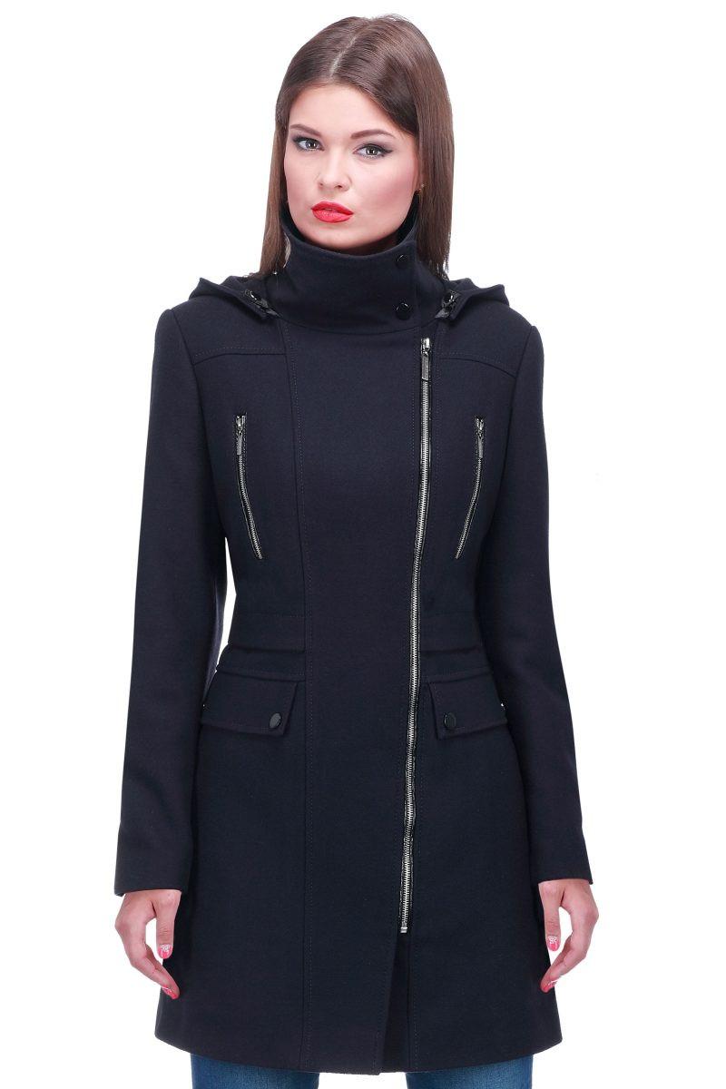 пальто на замке фото