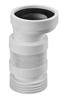 Коліно-підключ. еластичне до WC зміщ.20мм з ущільн.L-110 мм WC-CON4F