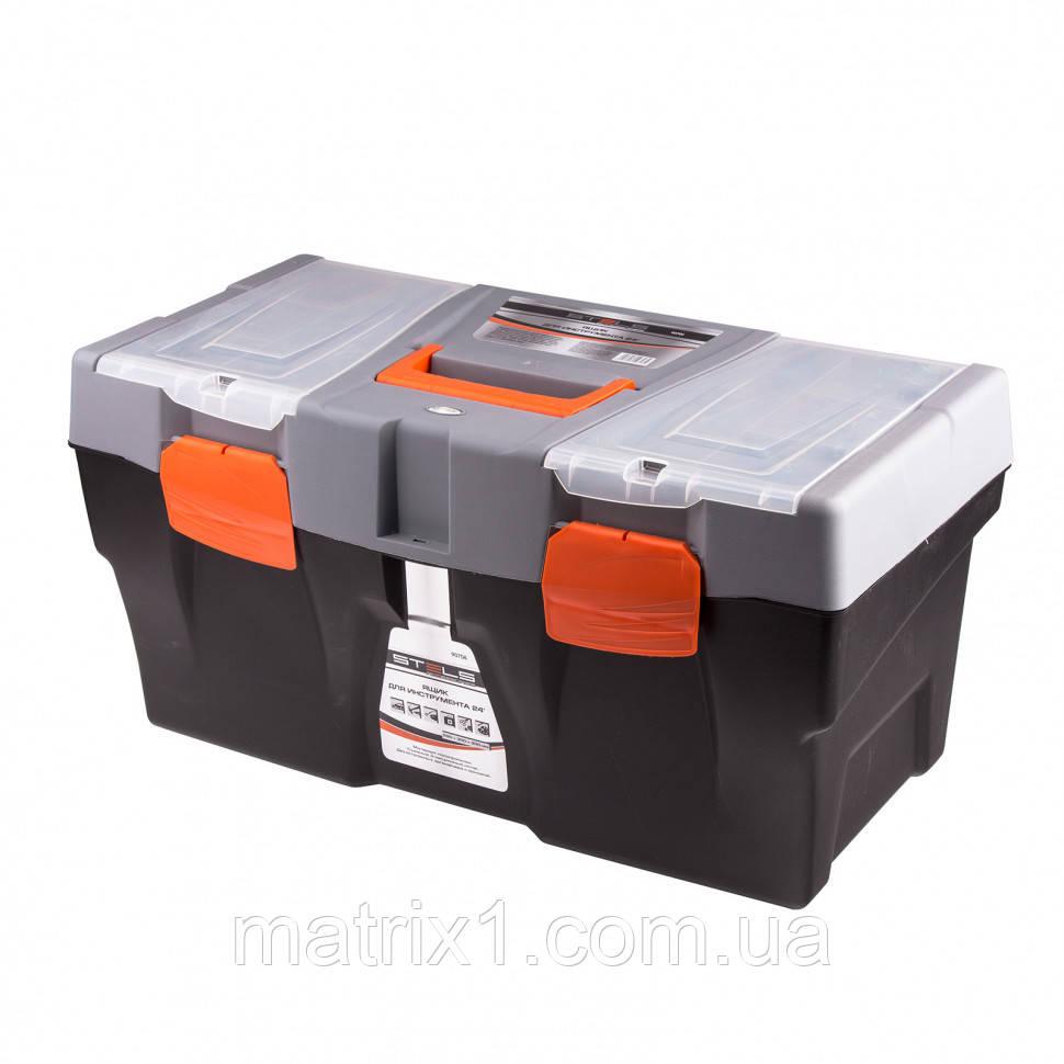 """Ящик для инструмента,   590 х 300 х 300 мм (24""""), пластик Stels"""