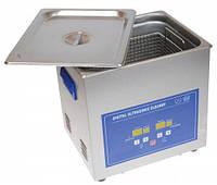 Ультразвуковая ванна Jeken PS-40A  (10Л, 240Вт, 40кГц, подогрев, таймер 1-30мин.), фото 1