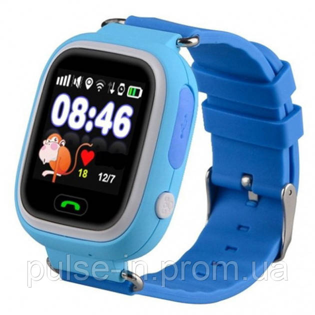 Смарт-часы Smart Watch Q90 GPS Blue