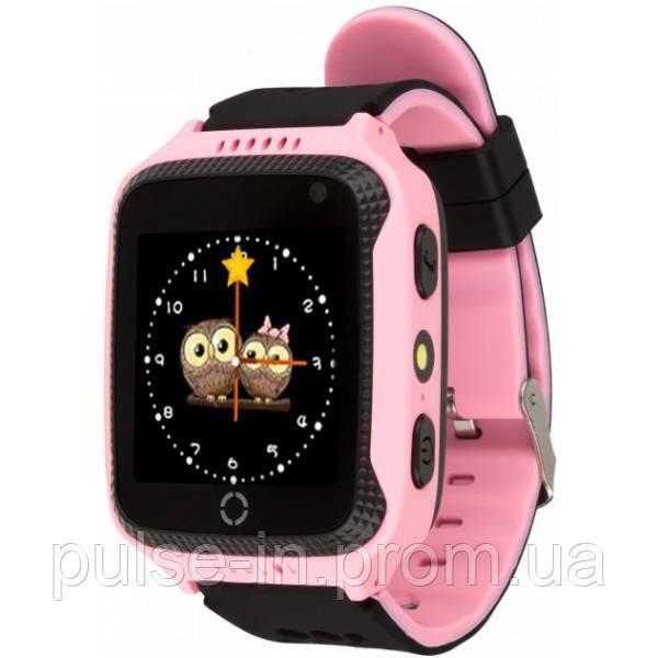 Детские умные GPS часы Smart Watch Q529 Pink