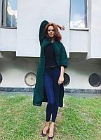 Вязаный кардиган-пальто из 100 % шерсти мериноса, фото 1